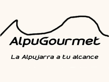 Alpugourmet, logo.