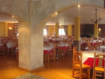 Restaurante Haza del Lino. Interior