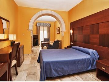 Hotel Nuevo Palace. Habitación