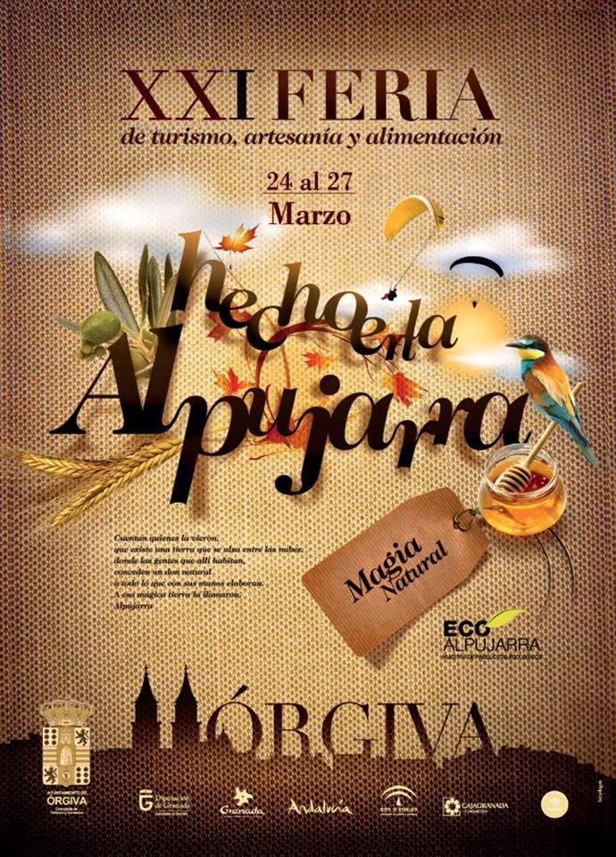 Rgiva xxi feria de turismo artesan a y alimentaci n for Feria de artesanias 2016
