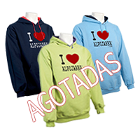 Sudaderas con capucha. I Love Alpujarra